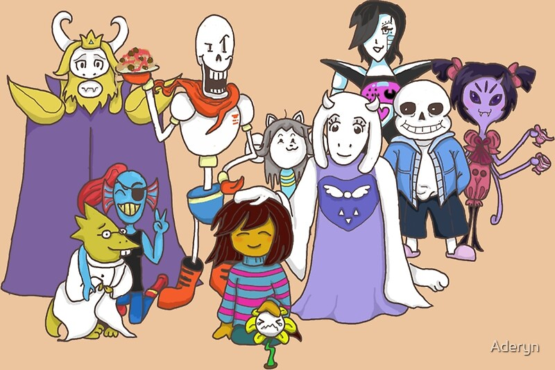 how to draw undertale characters