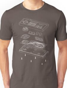NES: Just the Guts (white) Unisex T-Shirt
