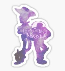 To Infinity & Beyond Sticker
