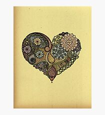 Tangled Heart Photographic Print