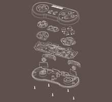 SNES: Just the Guts (white) Unisex T-Shirt
