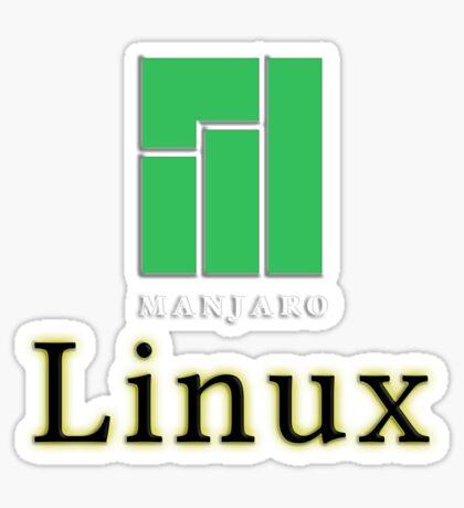 LINUX MANJARO Sticker