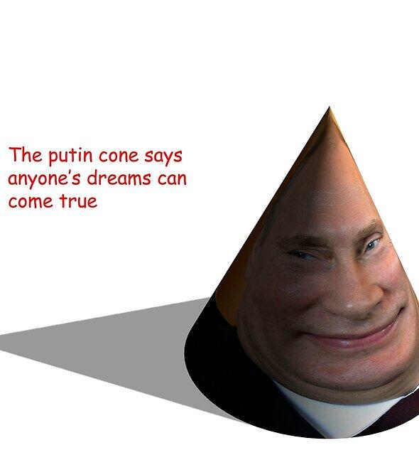 Putin Cone by shygeckoart