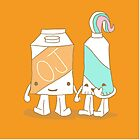 The Cutest Couple: Orange Juice & Toothpaste by rebecca-miller