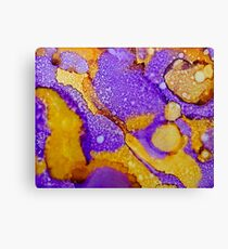 Demarcation by Deb Breton Canvas Print