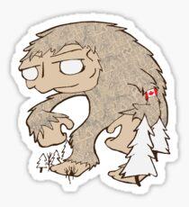 Sasquatch Friend Sticker
