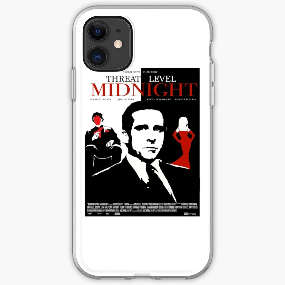 The Office: Threat Level Midnight Movie Poster iPhone Case & Cover