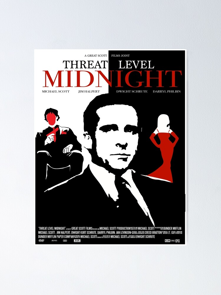 Alternate view of The Office: Threat Level Midnight Movie Poster Poster