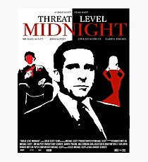 The Office: Threat Level Midnight Movie Poster Photographic Print