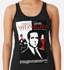 Das Büro: Bedrohungsniveau Midnight Movie Poster Racerback Tank Top