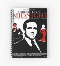 The Office: Threat Level Midnight Movie Poster Spiral Notebook