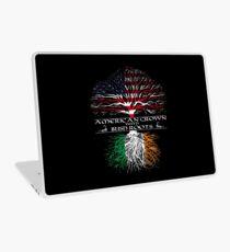 Amerikanisch mit irischen Wurzeln angebaut Laptop Skin
