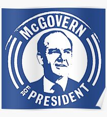 GEORGE McGOVERN FOR PRESIDENT Poster