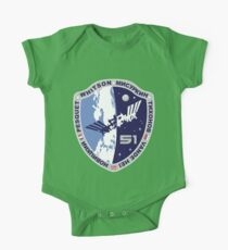 Expedition 51  Original Crew Mission Patch One Piece - Short Sleeve