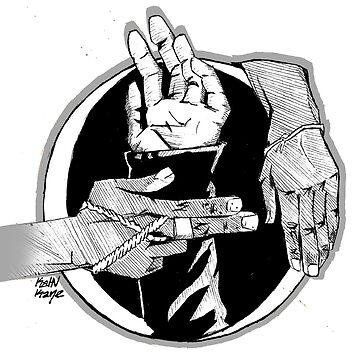 black hand side by KaHNkane