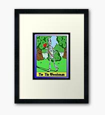 """The Tin Woodsman"" Framed Print"