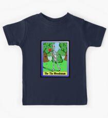 """""""The Tin Woodsman"""" Kids Tee"""