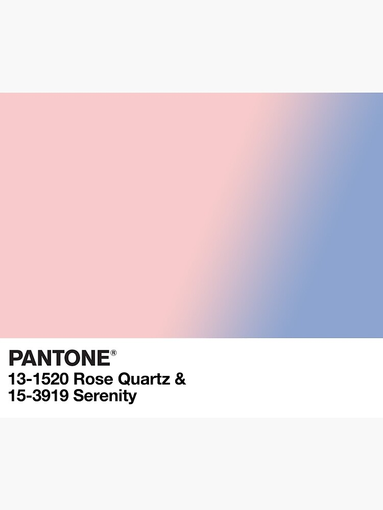 pantone rose quartz serenity de qpeazy