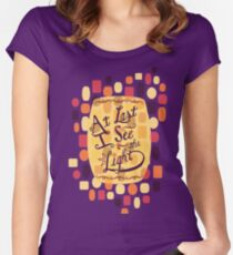 Tangled - At Last I See the Light Women's Fitted Scoop T-Shirt