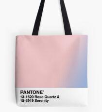 pantone rose quartz serenity Tote Bag