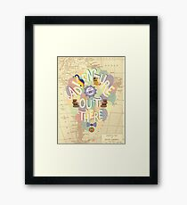 Up - Adventure is Out There Framed Print