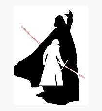 Darth Vader / Kylo Ren Photographic Print