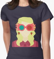 Luna Lovegood Womens Fitted T-Shirt
