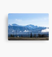 The Mountains of Jasper 2 Canvas Print