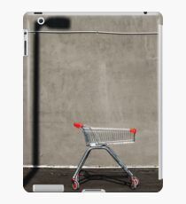 Lonely shopping trolley iPad Case/Skin
