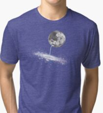 Luna Finds A Drink Tri-blend T-Shirt