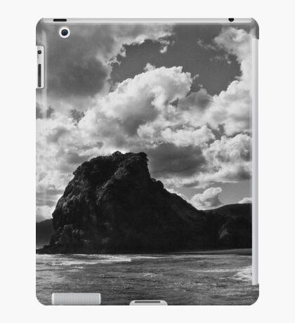 lion rock at piha redux iPad Case/Skin