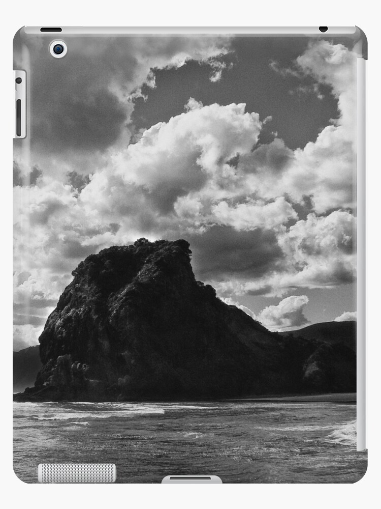 lion rock at piha redux by dennis william gaylor