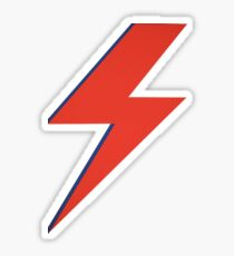 Crying lightning Sticker
