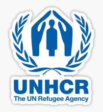UNHCR - UN Refugee Agency Sticker