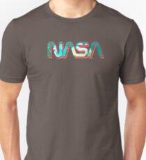 Vaporwave NASA T-Shirt