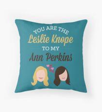 Cojín Leslie y Ann