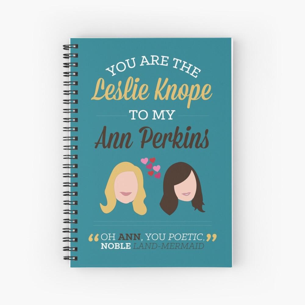 Leslie y Ann Cuaderno de espiral