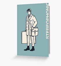 Stereophonic - Elliot Greeting Card