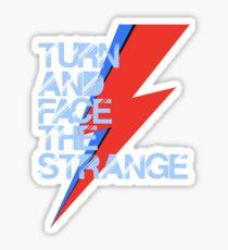Ch-ch-ch-changes Sticker