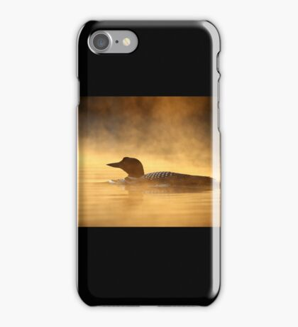 Into the Mist - Common Loon iPhone Case/Skin