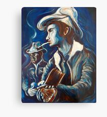 Townes Van Zandt Blues Metal Print