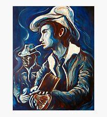 Townes Van Zandt Blues Photographic Print