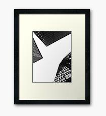 Framing Sky Framed Print