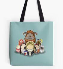 Labyrinth Nostalgia Tote Bag