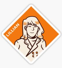 Lillian Sticker Sticker