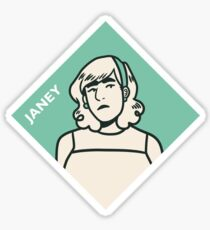 Janey Sticker Sticker