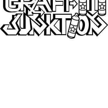 Graffiti Junktion (Solid Black) by graffitiswag