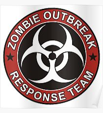 Zombie Outbreak Response Team Poster