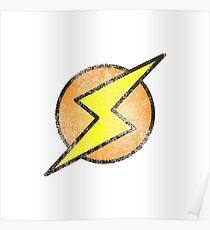 Flash lightning Poster
