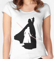 Darth Vader / Kylo Ren Women's Fitted Scoop T-Shirt